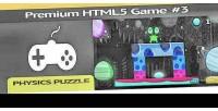 Premium html 5 game puzzle physics 3