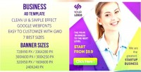 Html5 business banner ad gwd
