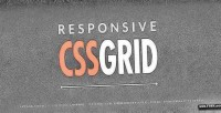Html5 responsive css grid