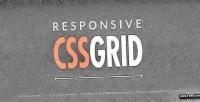 Html5 responsive css grid