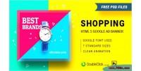 Html5 shopping 16 banner animated