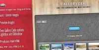 Image gallerygen gallery generator code html