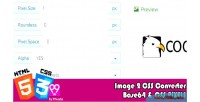 Image2css html5 converter tools