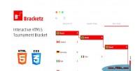 Interactive bracketz bracket tournament html5