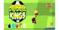 Kings dribble game football html5