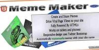 Meme html5 maker