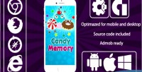 Memory candy game