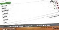 N drop save uploader drop drag