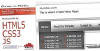 Drop o matic html5 menu drop friendly