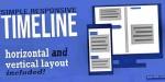 Responsive simple timeline template
