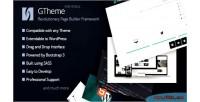 Revolutionary gtheme html framework builder page