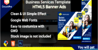 Services business ads sizes banner 7 hmtl5