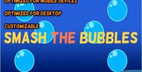 The smash bubbles html5 construct game capx 2