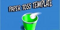 Toss paper 3d capx
