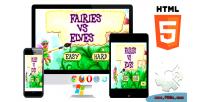 Vs fairies elves html5 capx game