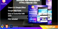 Web software development html5 banners ad sizes 7 gwd