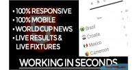 World brazil cup widget html5 soccer