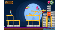 Zombies angry html5 capx game