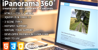 360 ipanorama jquery plugin