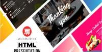 Html multipurpose presentation