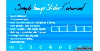 Image simple slider carousel