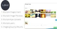 Album tinymce4 image manager