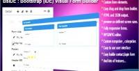 Bootstrap bside form builder