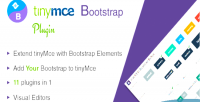 Bootstrap tinymce plugin