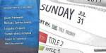 Events simple calendar js