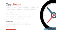 Highlight openhours your hours closing opening