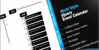 Multi jeventtimeline style calendar timeline event