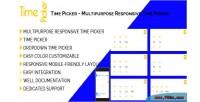 Picker time multipurpose picker time responsive
