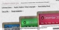 Premium jalendar calendar plugin events and
