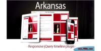 Responsive arkansas jquery timeline