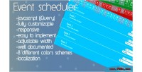 Scheduler event