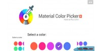 Color material picker plus