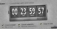 Countdown gaur with animation