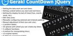 Countdown gerakl jquery