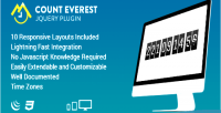 Everest count countdown plugin jquery responsive