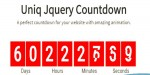Jquery uniqcountdown plugin