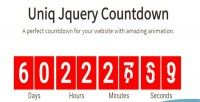 Jquery uniqcountdown plugin