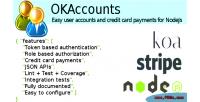 For okaccounts nodejs