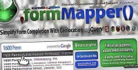 Address formmapper geolocation with autocomplete