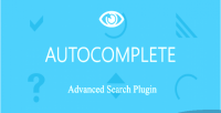 Advanced autocomplete search plugin & jquery autocomplete