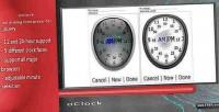 Analog oclock time picker