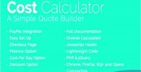 Calculator cost integration paypal with