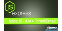 Contact ajax responsive nodejs form