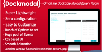 Dockmodal gmail like dockable plugin dialog modal