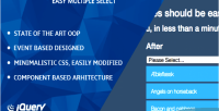 Easy jquery multiple select