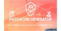 Generator password script